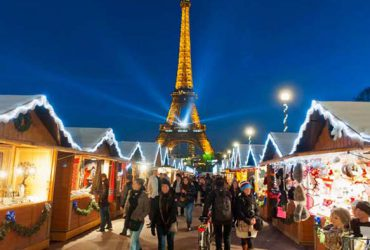 Spend News Year's Eve celebration in Paris
